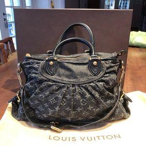 Louis Vuitton denim neo cabby MM